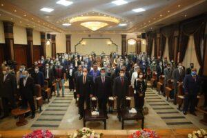 الدكتور أشرف صبحي يفتتح القمة الشبابية لمراكز شباب مصر