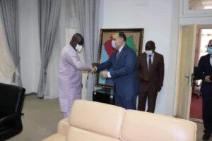 وزير الخارجية الغيني يشيد بالإمكانيات المصرية الكبيرة في شتى المجالات