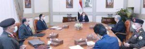 """السيد الرئيس يطلع علي تفاصيل المشروع القومي """"الدلتا الجديدة"""" بمساحة مليون فدان."""