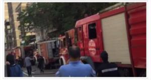 مصرع عاملين وإصابة 2 آخرين فى حريق مبنى ملحق بدير الأمير تادرس بالدرب الأحمر