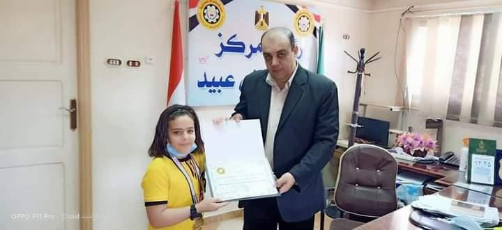ابن بني عبيد بطل الجمهورية في الجمباز