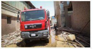 الحماية المدنية بالقليوبية تسيطر على حريق بشقة سكنية بطوخ