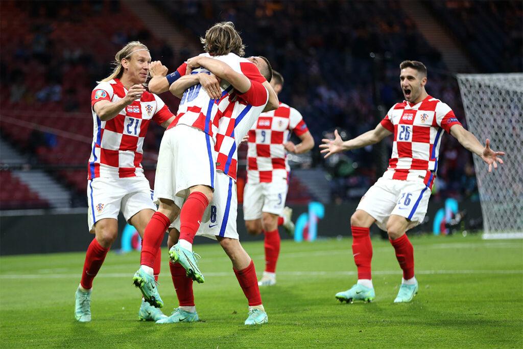 كرواتيا تنهي رحلة اسكتلندا في يورو 2020