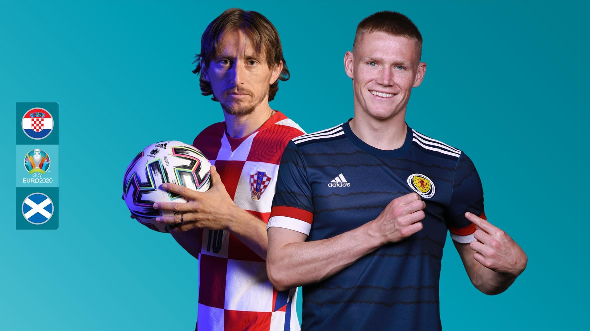 تشكيل مباراة كرواتيا أمام اسكتلندا في يورو 2020