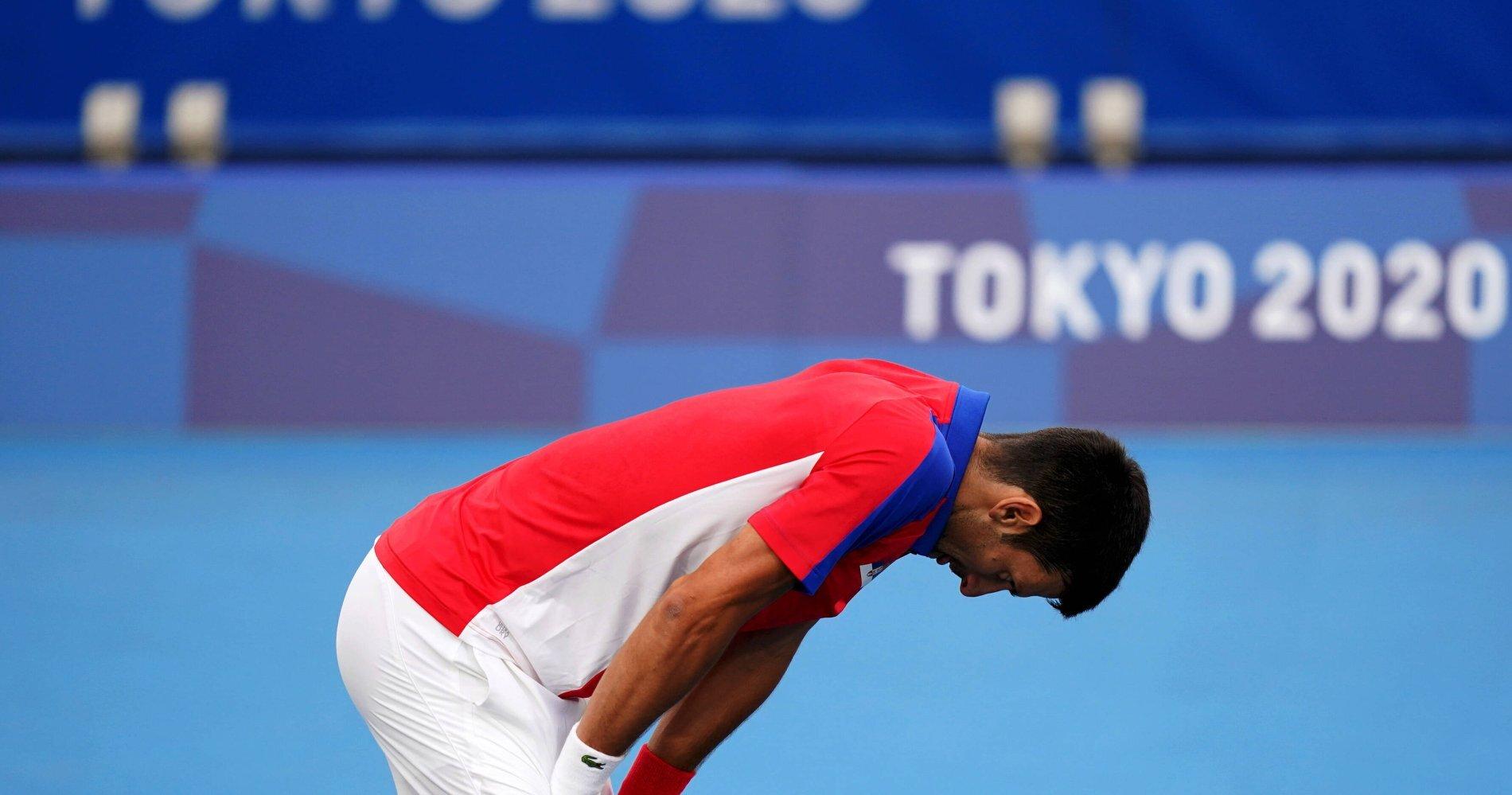 دجوكوفيتش يخسر نصف نهائي التنس الأولمبي