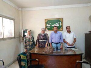 وفد من أمانة حزب حماة الوطن بنبروة يلتقى مسؤلى التضامن الإجتماعى ومنطقة مياة الشرب لبحث عدد من مشاكل المواطنين