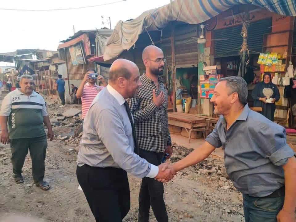 أهالي مدينة المحلة الكبرى يشيدون بجهود سيادة النائب محمود الشامي