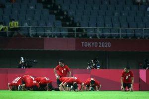 تماسيح النيل تلتهم الكنغر الأسترالي بثنائية و تتأهل إلى ربع النهائي في أولمبياد طوكيو 2020