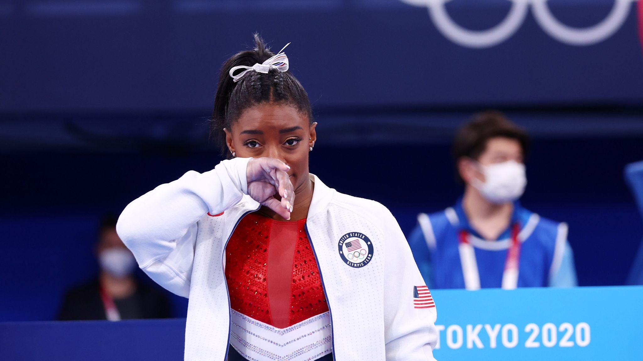 سيمون بايلز لن تدافع عن لقبها الأوليمبي
